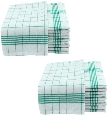 Geschirrtücher 50x70cm Küchentücher Geschirrtuch 10er bis 50er Pack Baumwolle – Bild 13