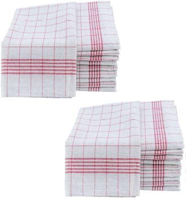 Geschirrtücher 50x70cm Küchentücher Geschirrtuch 10er bis 50er Pack Baumwolle – Bild 12