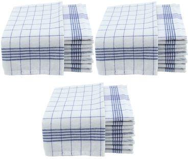 Geschirrtücher 50x70cm Küchentücher Geschirrtuch 10er bis 50er Pack Baumwolle – Bild 15