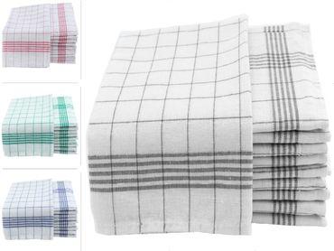 Geschirrtücher 50x70cm Küchentücher Geschirrtuch 10er bis 50er Pack Baumwolle – Bild 2