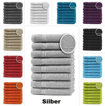8er Set Gästetücher Handtücher Duschtücher Badetücher Frottee 100% Baumwolle – Bild 5