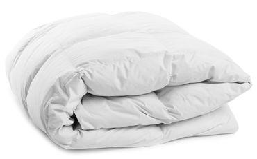 Bettdecke Winter 155x220 cm Steppdecke Mikrofaser Allergiker geeignet weiß – Bild 2