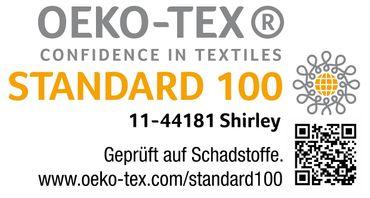 2 teilige Bettwäsche 135 x 200 cm Kariert weiß beige grau Baumwolle Garnitur – Bild 5