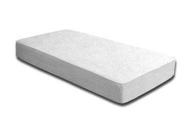 Spannbettlaken FROTTEE 180x200 cm - 200x200 cm weiß Spannbetttuch Bettlaken – Bild 4