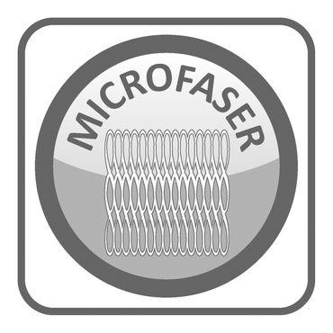 2er Pack Kissenbezug Kissenhülle 40x40cm Blumen Summer Time grau bunt Mikrofaser – Bild 2