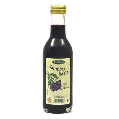 Holunder Wein (0.25 l / 12 % vol.)