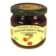 Fruchtaufstrich - Kirsche mit Vanille und Amaretto (225 g)