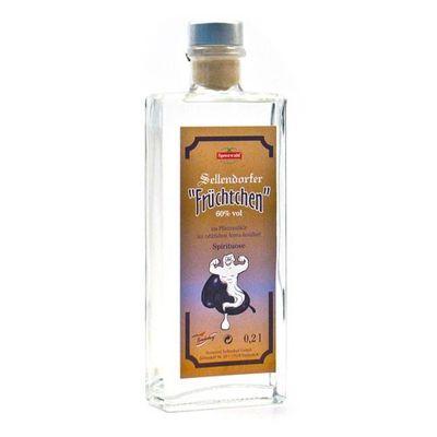 Sellendorfer Früchtchen Pflaumengeist (0,2 l / 60 % vol.)