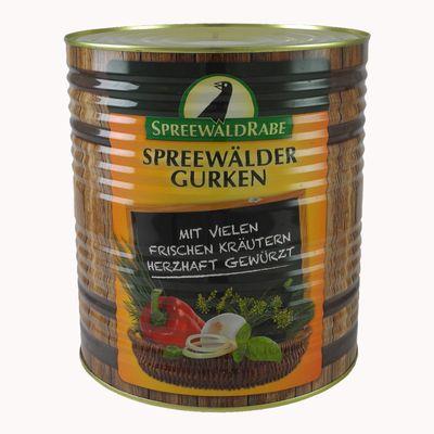 Original Spreewälder Knoblauch-Gurken (10 l Dose)
