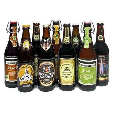 "Bierset ""Berlin/Brandenburger Biere"" (9 Flaschen / 7,4 % vol.)"