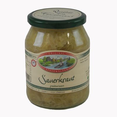 Krügermanns Original Spreewälder Sauerkraut (720 ml Glas)