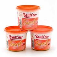 Bautzner Senf scharf 3er Pack (3 Becher à 200 ml)