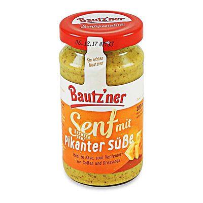 """Bautzner Senfspezialität """"Kremser Senf"""" (200 ml)"""