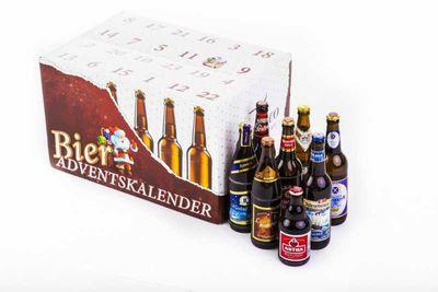 """Bier Adventskalender """"Deutsche Biere"""" (24 Flaschen  / 6,0 % vol.)"""