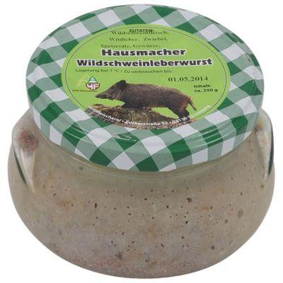 Hausmacher Wildschweinleberwurst (180 g)