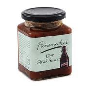 Fiensmecker Bier Steak Sauce - mit Dithmarscher Dunkel (280 g / 1,2% vol.)