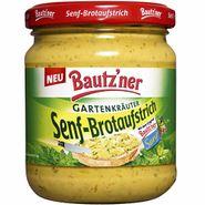 """Bautzner Senf-Brotaufstrich """"Gartenkräuter"""" (200 ml)"""