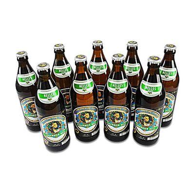 Augustinerbräu - Lagerbier hell (9 Flaschen à 0,5 l / 5,2 % vol.)