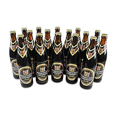 Märkischer Landmann Schwarzbier (16 Flaschen à 0,5 l / 4,9 % vol.)