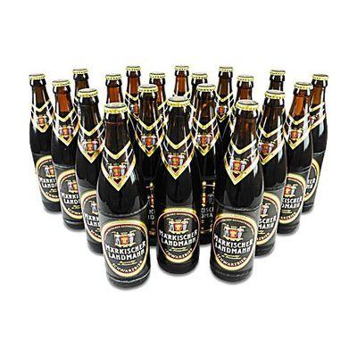 Märkischer Landmann Schwarzbier (20 Flaschen à 0,5 l / 4,9 % vol.)