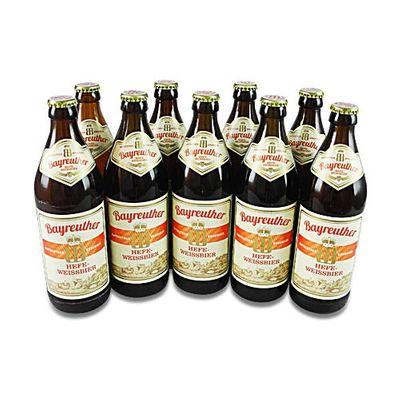 Bayreuther Hefe-Weissbier (9 Flaschen à 0,5 l / 5,3 % vol.)