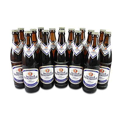 Dresdner Felsenkeller Pilsner (16 Flaschen à 0,5 l / 4,8% vol.)