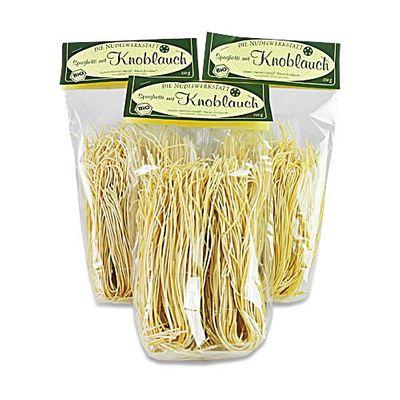 BIO Spaghetti mit Knoblauch 3er Pack (3 x 250 g)