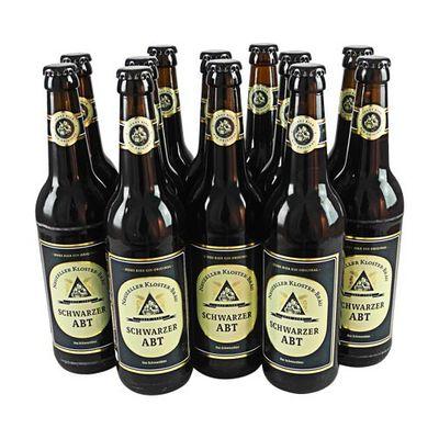 Neuzeller Schwarzer Abt (Schwarzbier / 12 Flaschen à 0,5 l / 3,9 % vol.)