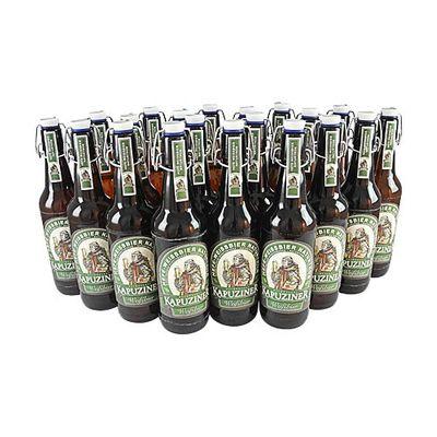 Kapuziner Weißbier (20 Flaschen à 0,5 l / 5,4 % vol.)