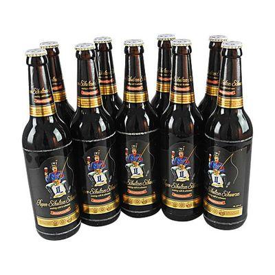 Pupen-Schultzes Schwarzes (Schwarzbier / 9 Flaschen à 0,5 l / 3,9% vol.)