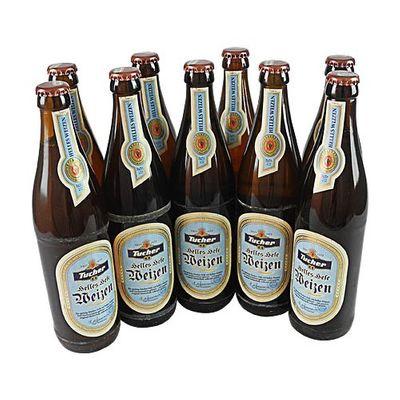 Tucher Helles Hefeweizen (9 Flaschen à 0,5 l / 5,2 % vol.)