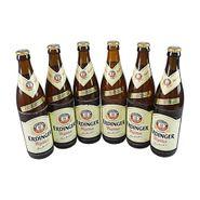 Erdinger Hefe Weißbier (6 Flaschen à 0,5 l / 5,3 % vol.)