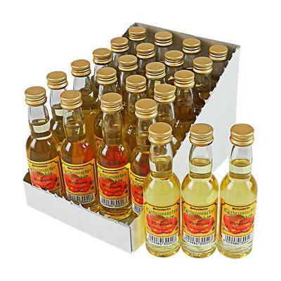Sellendorfer Apfellikör mit Weizenkorn 24er Pack (24 x 2 cl / 20 % vol.)