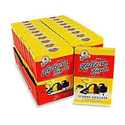 Halloren Kugeln Schoko-Eierlikör 20er Pack (20 Packungen à 125 g)