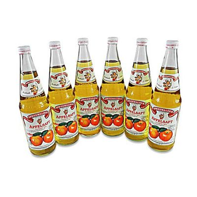 Janks klarer Apfelsaft 6er Pack (6 Flaschen à 0,7 l)