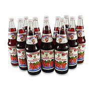 Janks Roter Johannisbeer - Nektar 12er Pack (12 Flaschen à 0,7 l)