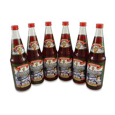 Janks Spreewälder Fruchtglühwein 6er Pack (6 Flaschen à 0.7 l / 8,5 % vol.)