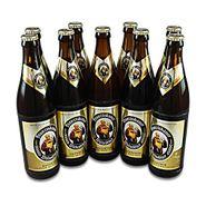 Franziskaner Weissbier naturtrüb (9 Flaschen à 0,5 l / 5,0 % vol.)