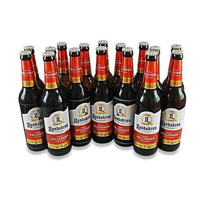 Landskron - Kellerbier (16 Flaschen à 0,5 l / 5 % vol.)