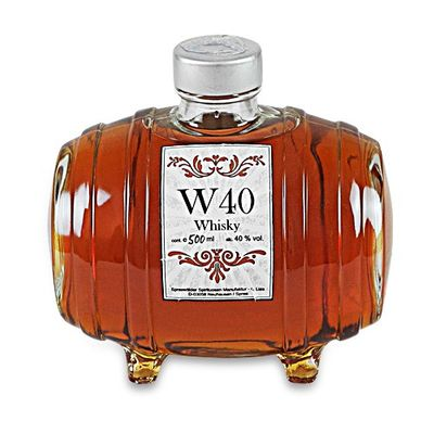W40 Whisky im Fass (0,5 l / 40 % vol.)