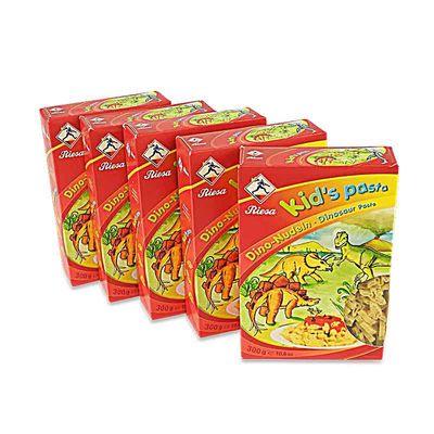 Kid's Pasta Dino-Nudeln 5er Pack (5 x 300 g)
