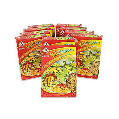 Kid's Pasta Dino-Nudeln 10 Pack (10 x 300 g)