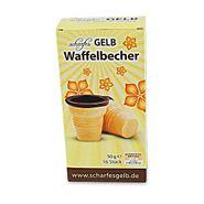 """""""scharfes GELB"""" Waffenbecher (16 Stück / 50 g)"""