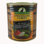 Original Spreewälder Pfeffer-Gurken (10 l Dose)