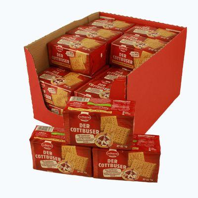 Der Cottbuser Butterkeks mit Honig 24er Pack (24 Packungen à 230 g)