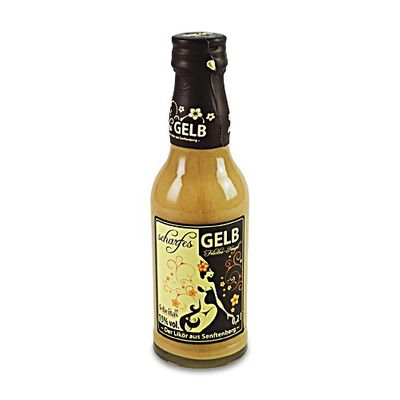 """scharfes GELB"" Irish Cream (0,2 l / 15 % vol.)"