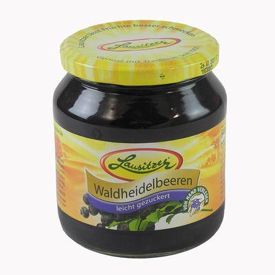 Lausitzer Waldheidelbeeren (580 ml Glas)