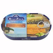 Geräucherte Makrelenfilets in Pflanzenöl und eigenem Saft (200 g)