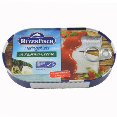 Heringsfilets in Paprika Creme (200 g)