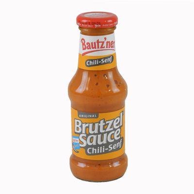 Bautzner Brutzel Sauce Chili-Senf (250 ml)